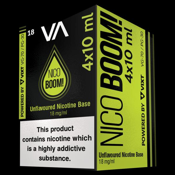 NicoBoom! 4x10ml multipack